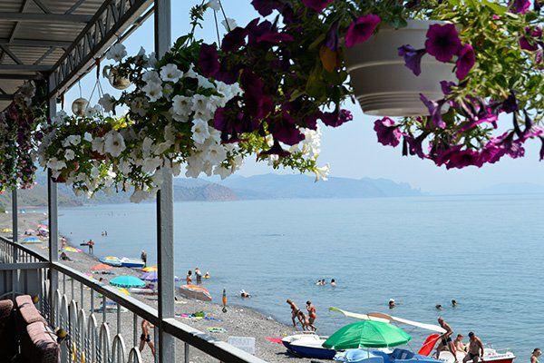 Отель Гамачок у моря Алушта