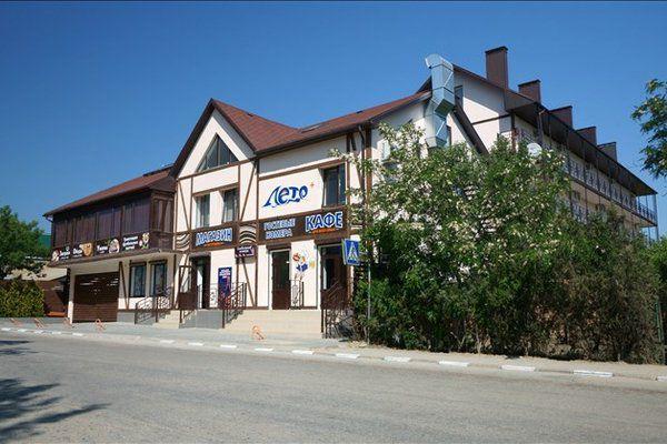 Отель Лето Коктебель Крым