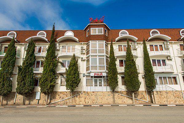 Отель Рай Рыбачье Алушта