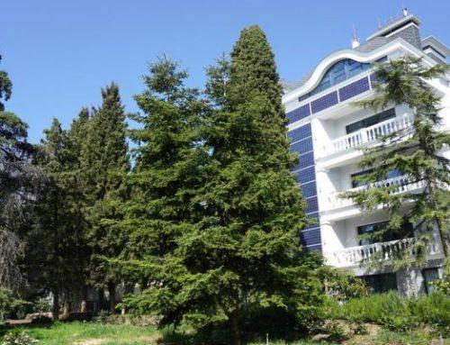 Отель «Усадьба Приморский парк» Отдых в Крыму — Алушта