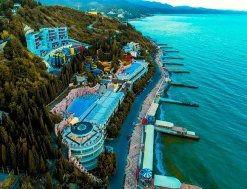 Отель «Аквапарк» | (комплекс Миндальная роща) Алушта | Отдых в Крыму