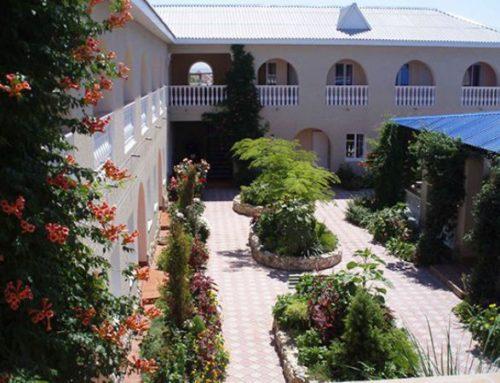 Гостиница «Скала» п.Межводное западный Крым