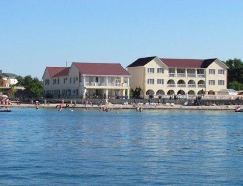 Отель Пальмира Межводное Черноморский район  Крым